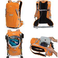 Lowepro Photo Sport 200 AW Digital SLR Camera Backpack Case Orange Bag