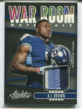 2019 PANINI ABSOLUTE RC A.J. BROWN WAR ROOM PATCH 45/49 3COL