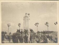 MEUSE PHOTOS MANIFESTATION AU MONUMENT AUX MORTS DE L' ARGONNE