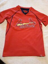 Cardinals Tshirt Boys M 10-12 / Majestic new