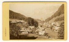 1517a❚ CDV v. ca. 1875, Ramsau bei Berchtesgaden Bayern