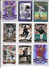 Randy Johnson plus 8 more Arizona Diamondbacks Baseball card lot