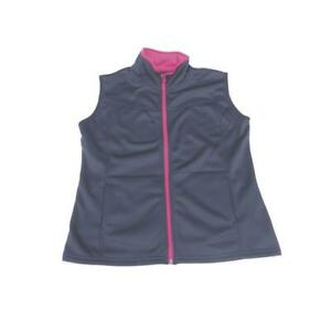 Weather Apparel 58028-051-XS Womens Poly-Spandex Vest Extra Small - Navy with...