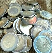 €50 /50.00 Euros 1 & 2 Euro Coins/Travel Cash