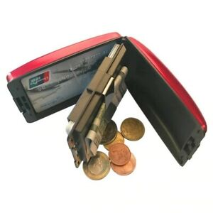 New RFID Secure Cash and Cards Wallet Case Safety Men Women Cards Holder Purse