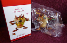 "Hallmark Keepsake Ornament Looney Tunes Taz A ""Light"" Snack 2013"