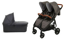 Valco Snap DUO Trend Stroller and Bassinet in Charcoal Brand New!!
