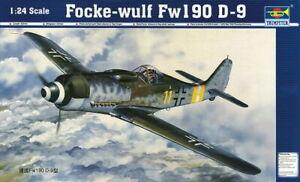 Trumpeter 02411 - 1:24 Focke-Wulf Fw 190 D-9 - Neu