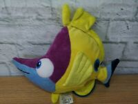 "K2) DISNEY STORE FINDING NEMO TAD THE BUTTERFLY FISH 11 "" SOFT PLUSH TOY VGC"