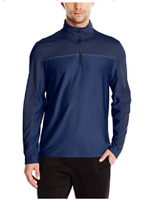 CALVIN KLEIN Navy Blue 1/4 Zip Lightweight Performance Pullover NWT