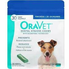 Merial Oravet Dental Hygiene Chew For Dogs 10-24 Lbs Dental Treats For Dogs 3...