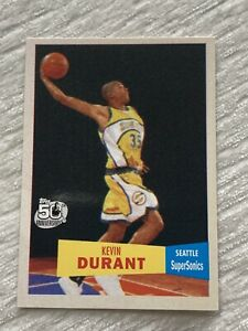 2007 Topps Vintage 61 Kevin Durant #112 ROOKIE RC 🔥 MINT, GET PSA GRADED 🔥 (b)