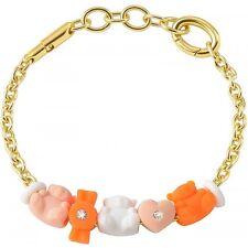 Bracciale Morellato Collez.Drops Colours art.SABZ175 Alluminio dorato 5 charms