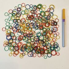 Huge Lot of Rubber Bands Small Colorful Rounds Great for Crafts Projects