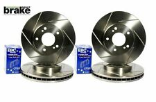 Ford Focus ST170 Front and Rear Grooved Brake Discs and EBC Yellowstuff Pads