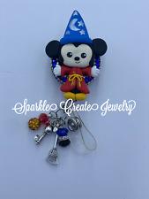 Fantasia Mickey Mouse Clay Badge Reel