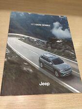 2015 Jeep Grand Cherokee 64-page Original Sales Brochure