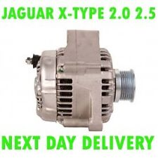 Jaguar x-type 2.0 2.5 3.0 2001 2002 - 2009 alternator 12 month warranty