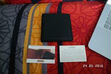 NOS NEW VINTAGE 1990'S COACH BLACK TUMBLED CALF HISPTER 8 CC WALLET GELDBÖRSE