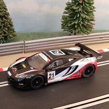Scalextric 1:32 Car - Red, White & Black McLaren MP4-12C GT3 #21 *LIGHTS*