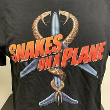 Snakes On A Plane Movie T Shirt New Without Tags Nwot Mens Large
