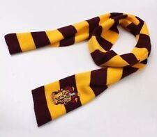 "Harry Potter Scarf Gryffindor Red & Gold Costume Knit Wool 63"" US Seller"