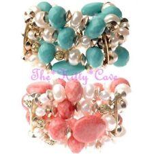 Pulseras de joyería perla oro perla