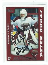Peter Budaj Signed 2003/04 Pacific Prospects AHL Card #38