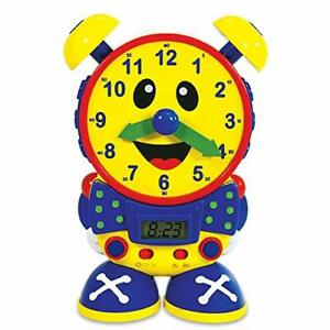 The Learning Journey Telly The Teaching Time Clock - Electronic Analog & Digi...