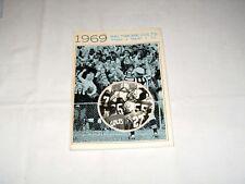 Baltimore Colts 1969 PRESS, RADIO & TV GUIDE