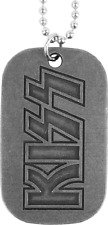 67101 KISS Logo Dog Tag Necklace Rock & Roll 70s Jewelry Pendant Army Gift NEW