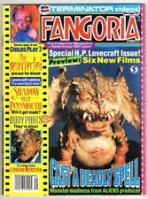"FANGORIA #106 (9/91)--VG+ / Cthulhu, Lovecraft Movies; ""T2""/Arnold Poster^"