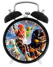 Lego Ninja Ninjago Alarm Desk Clock Home or Office Decor F82 Nice Gift