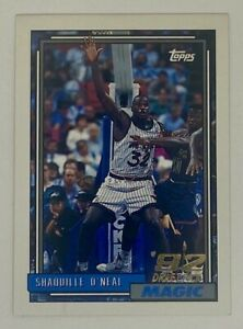 Shaquille O'Neal Topps Rookie Card 92-93