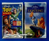 2 Disney The Lion King VHS & Toy Story VHS New Sealed