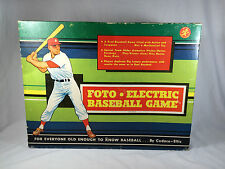 Vintage Foto Electric Baseball Board Game 1961
