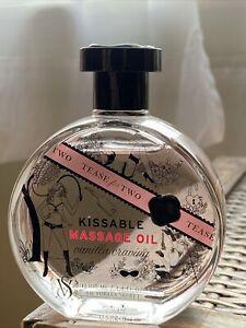 VICTORIA SECRET VANILLA CRAVING Tease for Two Kissable Massage Oil 3.4oz *opened