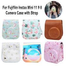 Protective Case For Fujifilm Instax Mini 11 9 8 Instant Camera Bag Cover + Strap