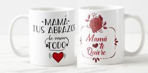 DÍA DE LA MADRE- Taza Mamá tus abrazos lo curan todo