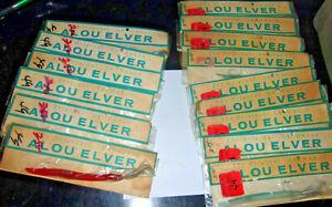 Vintage PRE Garcia Alou Eel ELVER 3/4oz  lure Striped Bass NOS STRIPED BASS LMB