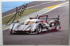 PHOTO cm12x18 SIGNED by Oliver Jarvis AUDI R18 ULTRA #4 3rd place LE MANS 2012