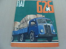 BROCHURE FIAT 626 N AUTOCARRO CAMION TRUCK OLD ITALY TORINO