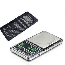 Pocket Scale 1Kg/0.1G Jewelry Scales Electronic Kitchen Scale USB Charge
