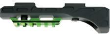 New 2018 Muzzy Tac Rail Spin-Style Bowfishing Reel Seat & Rail Xd 1098