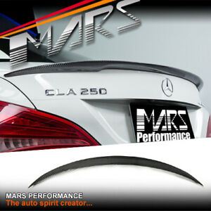 AMG CLA45 Style Carbon Trunk Lip Spoiler Wing for Mercedes-Benz CLA C117 W117