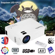 Full HD 1080P 3D Projektor 7000 Lumen LED Heimkino Cinema HDMI AV USB SD NEU