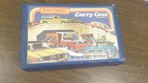 1978 Lesney Matchbox Car Carry Case, Holds 24 Cars