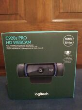 New Logitech C920s Pro HD 1080p Webcam with Privacy Shutter - In Hand