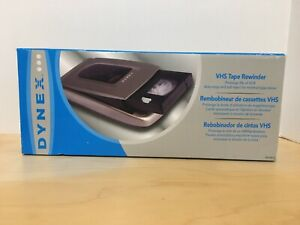 DYNEX VHS TAPE REWINDER  Auto-Stop Soft Eject Model DX-VR101 NEW OLD STOCK
