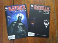 Batman Secrets #4-5 **TWO ISSUE LOT** (DC 2006) VF/NM